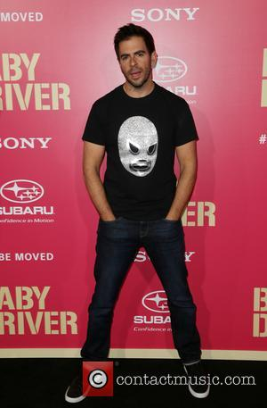 Eli Roth at the L.A. premiere of Sony Pictures' 'Baby Driver' held at Ace Hotel - Los Angeles, California, United...