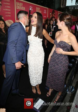 Jon Bernthal, Eiza Gonzalez and Lily James