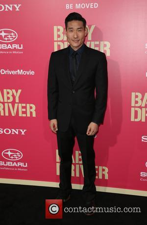 Lanny Joon at the premiere of Sony Pictures' 'Baby Driver' held at Ace Hotel - Los Angeles, California, United States...
