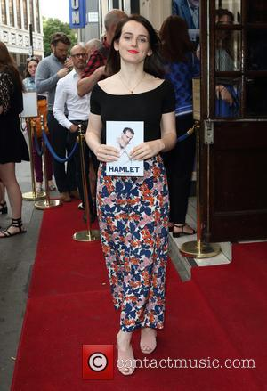 Sophie McShera at the Hamlet press night held at The Harold Pinter Theatre, Panton Street - London, United Kingdom -...
