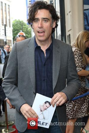 Stephen Mangan at the Hamlet press night held at The Harold Pinter Theatre, Panton Street - London, United Kingdom -...