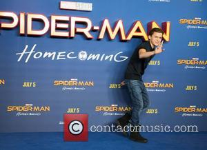 Zendaya and Tom Holland attend a photocall for their new movie 'Spider-Man: Homecoming' - London, United Kingdom - Thursday 15th...