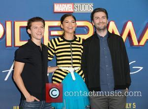 Tom Holland, Zendaya and Jon Watts