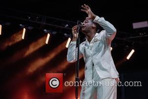 Leon Bridges performs at Monterey Pop Festival 2017 - Los Angeles, California, United States - Saturday 17th June 2017