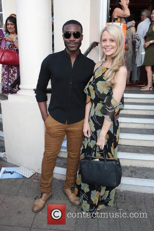 Ore Oduba and Portia Oduba