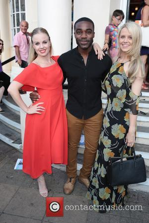 Joanne Clifton, Ore Oduba and Portia Oduba