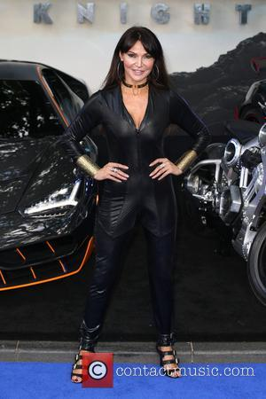Lizzie Cundy at the Transformers: The Last Knight world premiere - London, United Kingdom - Sunday 18th June 2017