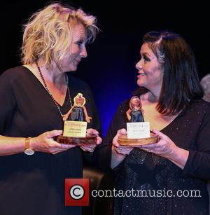 Dawn French and Jennifer Saunders at The Colston Hall