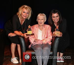 Dawn French, Jennifer Saunders and Dame June Whitfield