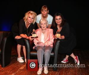 Dawn French, Jennifer Saunders, Dame June Whitfield and Mel Giedroyc