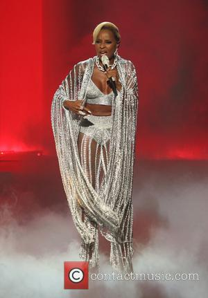 Mary J. Blige on stage at the 2017 BET Awards held at Microsoft Square - Los Angeles, California, United States...