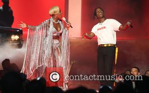 Asap Rocky and Mary J. Blige