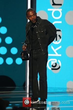 Kendrick Lamarr on stage at the 2017 BET Awards held at Microsoft Square - Los Angeles, California, United States -...