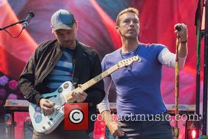 Coldplay, Chris Martin and Jonny Buckland