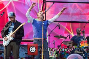 Coldplay, Chris Martin, Jonny Buckland and Will Champion