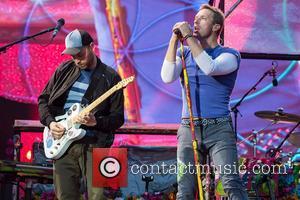 Coldplay, Chris Martin and Jonny Buckland