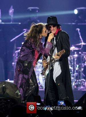 Steven Tyler, Joe Perry and Tom Hamilton