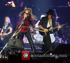 Steven Tyler, Joe Perry, Brad Whitford and Tom Hamilton