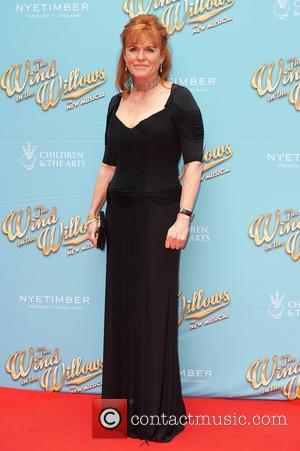 Sarah Ferguson attends the red carpet for 'The Wind in the Willows' press night held at the London Palladium -...