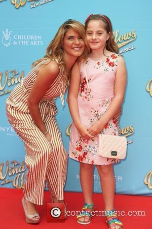 Gemma Oaten attends the red carpet for 'The Wind in the Willows' press night held at the London Palladium -...