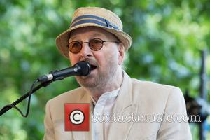 Chas Hodges and Chas & Dave at Hyde Park, London.