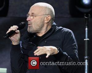Phil Collins at Hyde Park