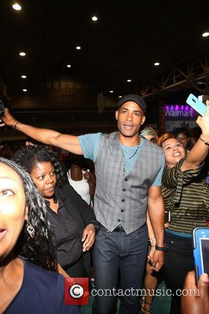 Boris Kodjoe seen entering the 2017 Essence Festival held in the convention center - New Orleans, Louisiana, United States -...