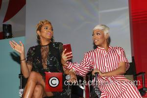 Letoya Luckett and Monica