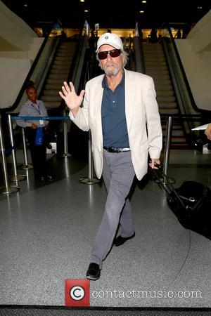 Michael Douglas seen arriving at LAX Airport - Los Angeles, California, United States - Tuesday 4th July 2017