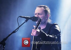 Thom Yorke and the rest of Radiohead perform at Manchester Emirates Stadium - Manchester, United Kingdom - Tuesday 4th July...