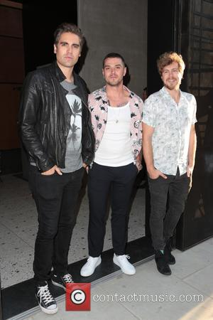 Charlie Simpson, Matt Willis and James Bourne
