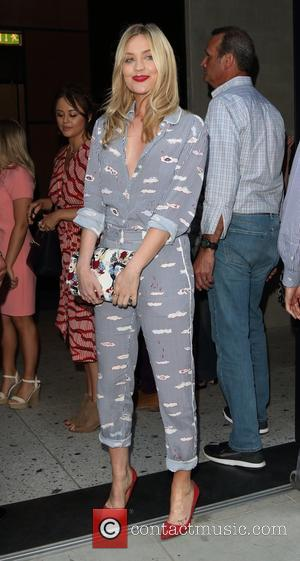 Laura Whitmore attends the Warner Music and GQ summer party held at Nobu, Shoreditch - London, United Kingdom - Wednesday...