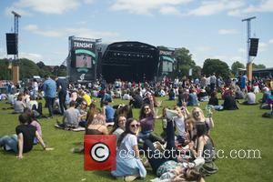 Atmosphere at Glasgow Green