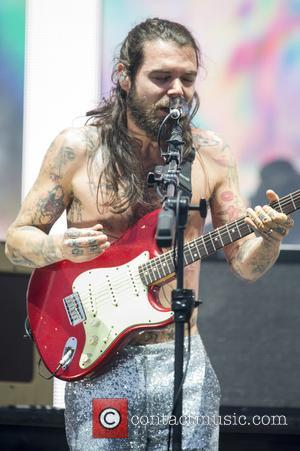 Simon Neil and the rest of Biffy Clyro perform at the inaugural TRNSMT Festival held between 7th - 9th July...