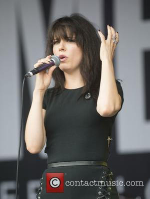 Imelda May performing live at the Cornbury Music Festival 2017 - Oxfordshire, United Kingdom - Sunday 9th July 2017
