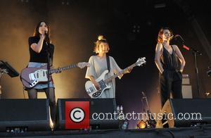 Warpaint, Theresa Wayman, Emily Kokal and Jenny Lee Lindberg