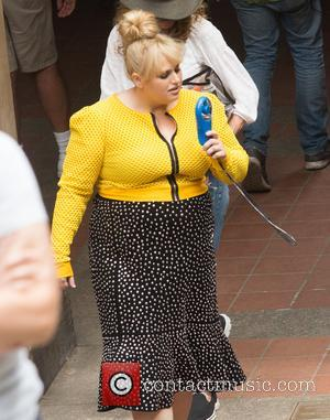 Rebel Wilson seen filming on location for the new movie Isn't It Romantic - Central Park, New York, New York,...