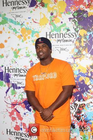 A$AP Ferg at the launch party for Hennessy's Limited Edition bottle Created by Harlem-native designer and artist JonOne - New...