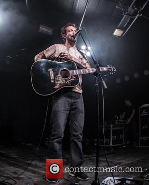 Frank Turner performing live at the Old Firestation in Bournemouth after blink-182 cancel their event - Bournemouth, United Kingdom -...