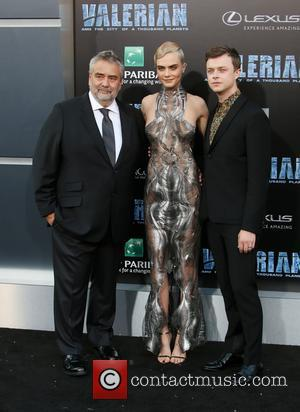 Luc Besson, Cara Delevingne and Dane Dehaan