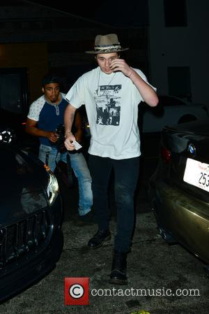 Brooklyn Beckham out with his friend Jack Scott Ramsay at Tao restaurant - Hollywood, California, United States - Tuesday 18th...