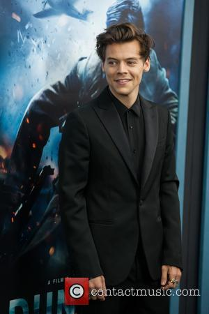 Harry Styles - New York premiere of 'Dunkirk' - Red...