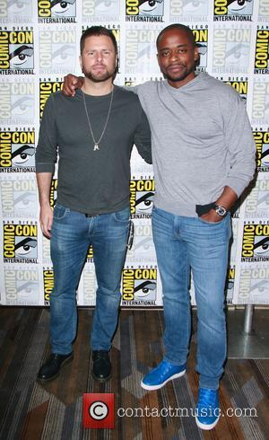James Roday and Dule Hill at the 'Psych' photocall at comic con - San Diego, California, United States - Friday...