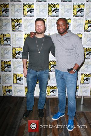 James Roday and Dule Hill