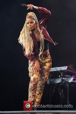 Mary J. Blige performing live on stage at the Liseberg amusement park - Gothenburg, Västergötland and Bohuslän, Sweden - Saturday...