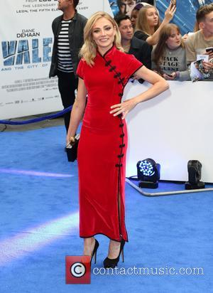 Clara Paget at the European premiere of 'Valerian And The City Of A Thousand Planets' held at Cineworld Empire, Leicester...
