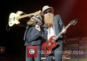 Zz Top, Dusty Hill and Billy Gibbons at Manchester O2 Apollo