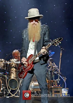 Zz Top, Billy Gibbons and Frank Beard