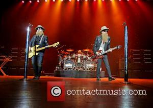 Zz Top, Dusty Hill, Frank Beard and Billy Gibbons
