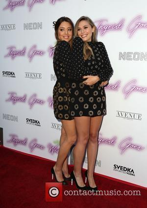 Aubrey Plaza and Elizabeth Olsen
